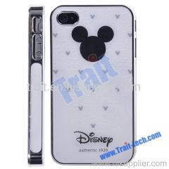Cartoon Mouse Head Hard Case Cover for iPhone 4S/iPhone 4