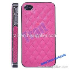 Hard Case Cover for iPhone 4S/iPhone 4 (Hot Pink)