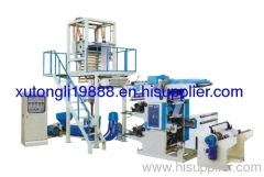 PE Blowing Film Hectograph Printing Line Machine