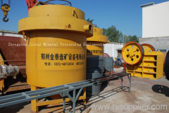 Magnetic-agglomeration gravity separator jintai29