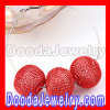 25mm Red Basketball Wives Wire Mesh Balls Beads Wholesale