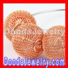 wholesale Basketball Wives Yellow Wire Mesh Balls Beads supplies