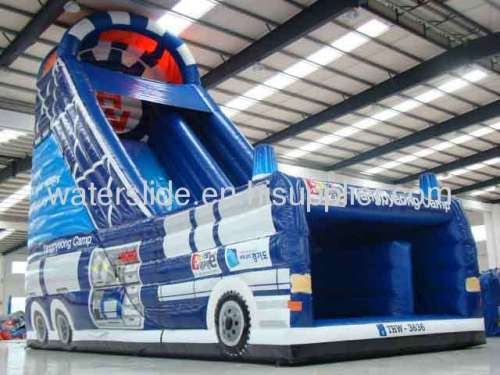 Car water slides inflatable for sale