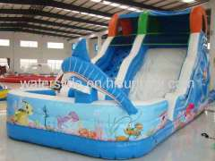 liquid motion inflatable water slide