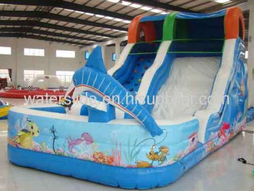 liquid motion inflatable water slide