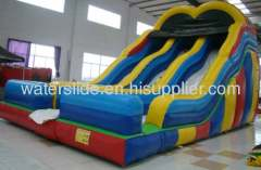 inflatable backyard water slides