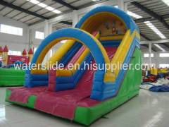 play water slide