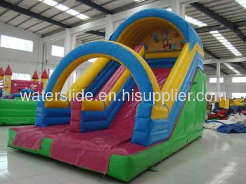 play water slide
