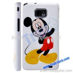Micky Pattern Plastic Hard Case Cover for Samsung Galaxy S2 i9100