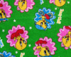 printed cotton flannel fabric