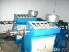 PVC tube production