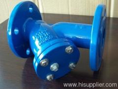 805-F (DIN) Cast Iron Strainer