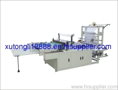 2011 RQLC Series Multifunction Computer Control Hot-cutting Bag Making Machine