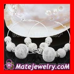 70mm Basketball Wives Mesh hoop earrings