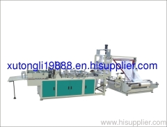 2011 RQLE Multifunction Computer control Hot-Cutting Bag Making Machine with Triangle Folding Machine (500-1300)
