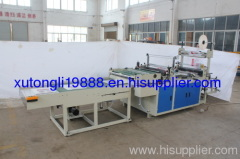 2011 RQLF Series Multifunction Computer Control Hot-cutting Bag Making Machine with Conveyer Belt and Arrange shelf