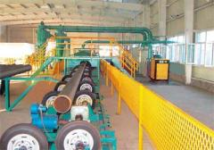 Three Layer PE Pipe Production Line