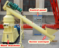 SJM-5 farm waste biomass briquetting machine made by Gongyi Yugong