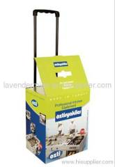 Favorites trolley case,trolley carton,cardboard display, paper display