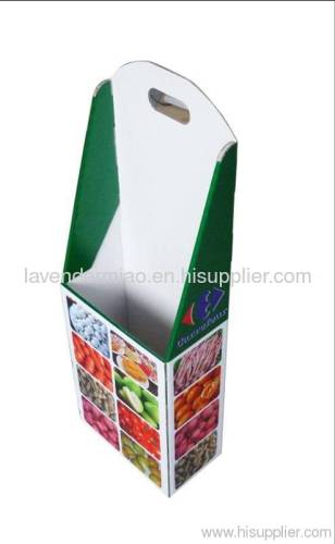 cardboard paper trolley
