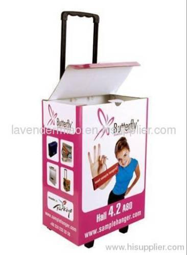Promotion Paper Packaging Trolleys