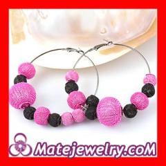 Rose Basketball Wives Mesh Earrings