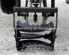 Rolling Harrow Basket with Concave Mounding Blades