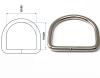 Standard D ring