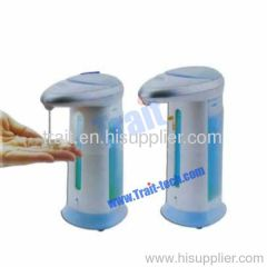 Handsfree Touchless Automatic Soap and Sanitizer Dispenser with Lights and Sound