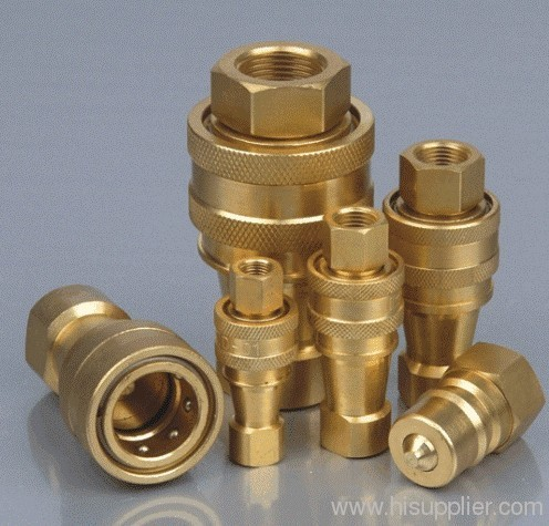 Brass Type hydraulic Quick Coupling