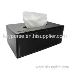 Rectangle Leather Hotel Tissue Box