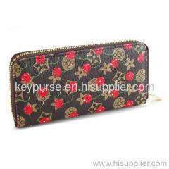 Cute Long Card Wallet