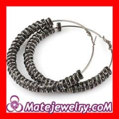 Crystal basketball wives earrings