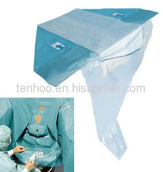 surgical TUR urology drape