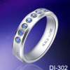 Diamond Rings White Tungsten Rings wedding rings for men fashion rings couple rings engagement rings eternity rings