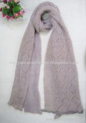 100% acrylic woven scarf, measuring 180*40cm