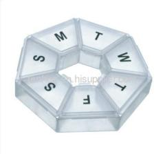 Seven Sided Pill Organizer