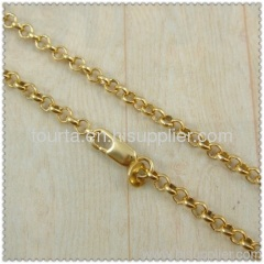 18 karat gold plated chain