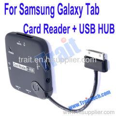 Samsung Galaxy Tab P7300/ P7310/ P7500/ P7510 Card Reader with USB HUB