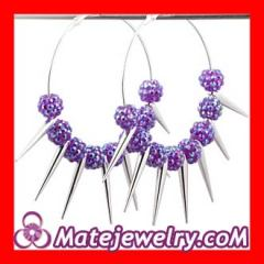 plastic basketball wives earrings wholesale