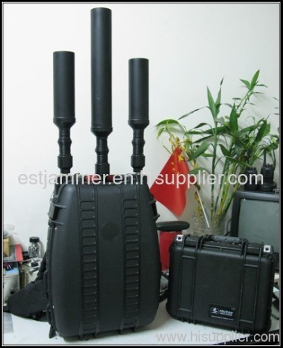 All signal jammer - Bomb Manpack Military Portable Jammer