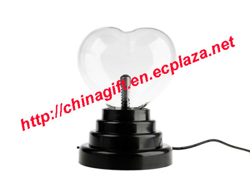 USB Plasma Heart Shape Light