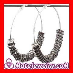 Poparazzi hoop basketballl wives earrings