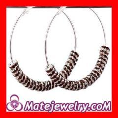 Crystal poparazzi earrings wholesale
