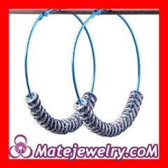 Blue basketball wives poparazzi earrings
