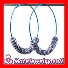 Blue basketball wives poparazzi earrings