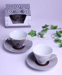 porcelain cup&saucer