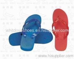 White dove brand pvc flip flop indoor slipper