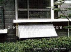 The principium for balcony solar collector