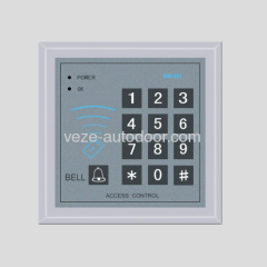 Automatic door access control card reader
